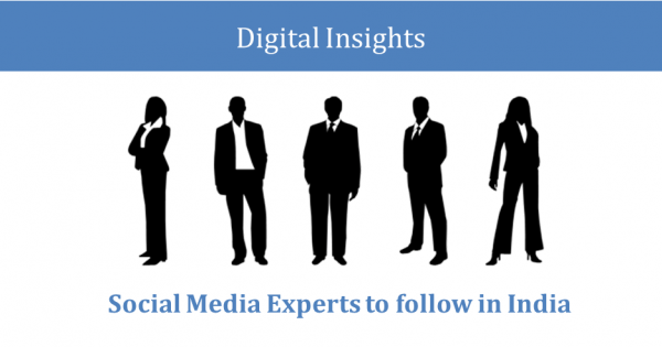Social Media Experts to follow in India