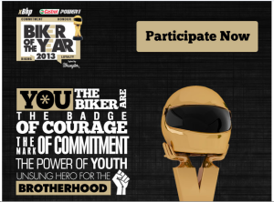Castrol Biker of the Year Facebook Application