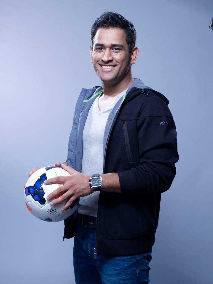 MS Dhoni for Barclays Premier League 2013