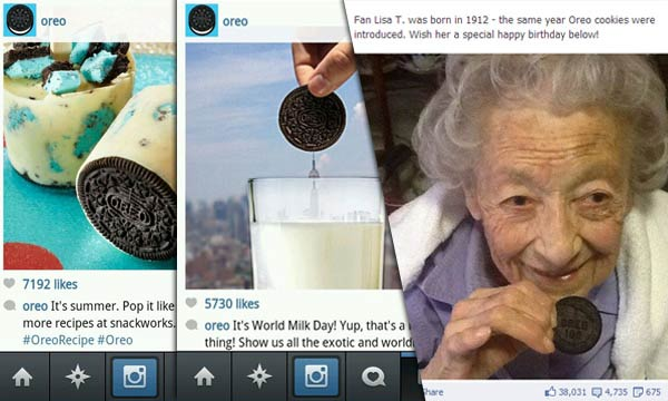 oreo instagram posts