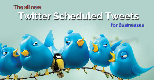 scheduled tweets