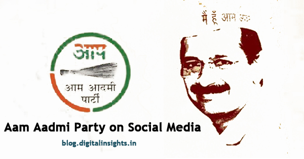 Aam Aadmi Party on Social Media