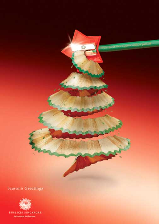 publicise christmas ad