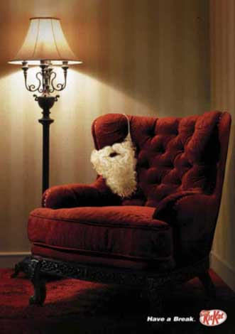 15 most creative christmas advertisement examples for. Black Bedroom Furniture Sets. Home Design Ideas