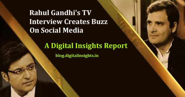 Rahul Gandhi First TV Interview creates buzz on Social Media