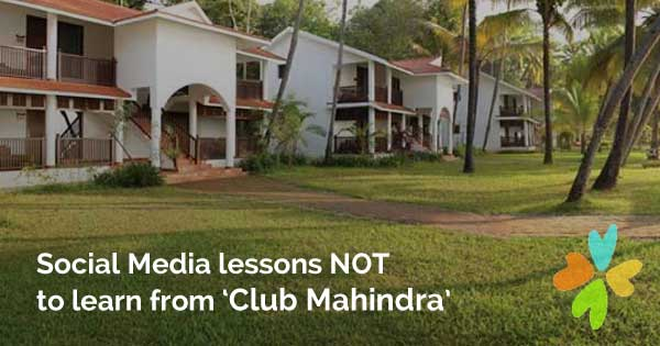 club mahindra social media