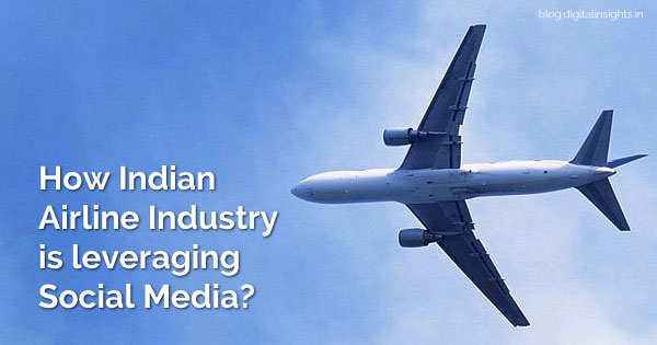 indian airline industry on social media