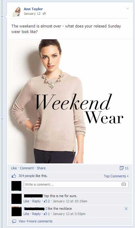 anntaylor on Facebook