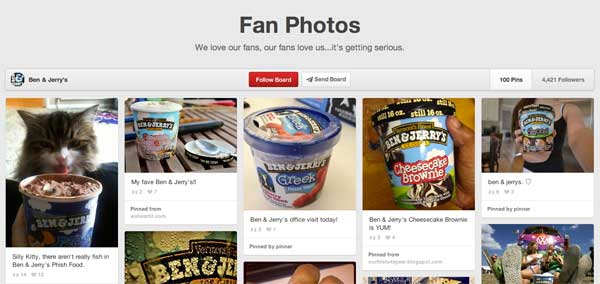 ben jerry pinterest