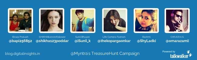 myntra twitter campaign