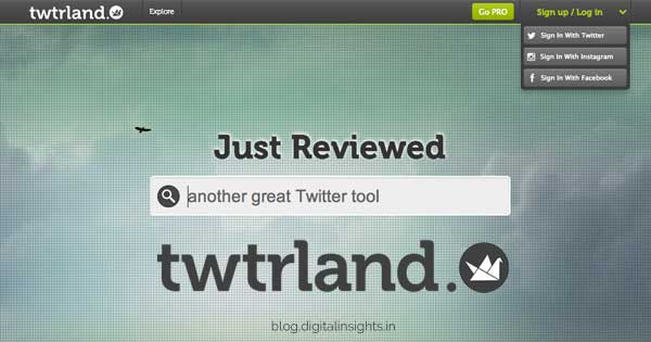 Twtrland Review : Social Media Tools