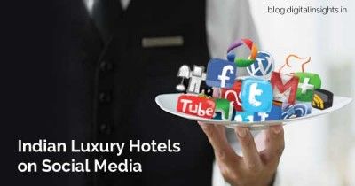 indian hotels on social media