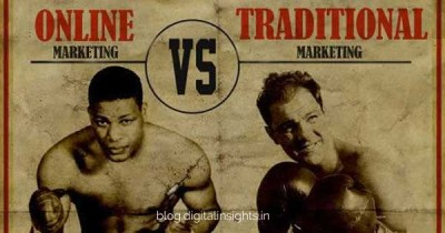 online marketing vs traditional