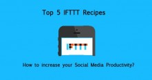 IFTTT Top 5 Recipes for Social Media