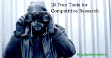 Use these 18 Tools for your Competitive Research