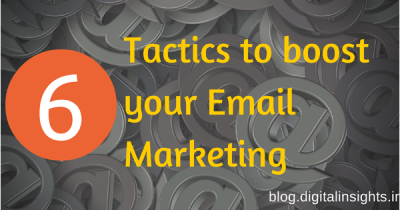 Tactics for email marketing