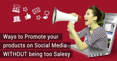 promote products social media