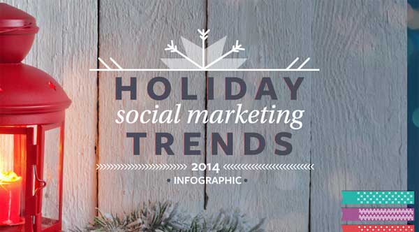 best infographic 2014 social media holiday trends
