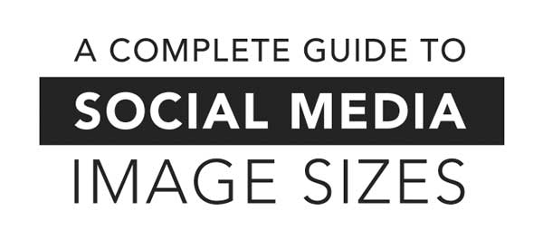 best infographic 2014 social media sizes