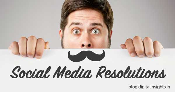 social media resolutions 2015