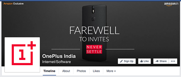 oneplus facebook page